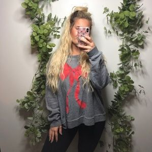 Wildfox so soft oversized and comfy sweatshirt